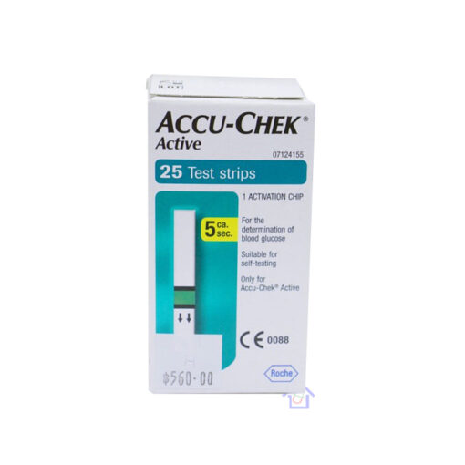 Accu Chek Active แผ่นตรวจน้ำตาล
