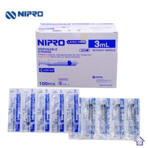 หลอดฉีดยา Syringe 3 ml