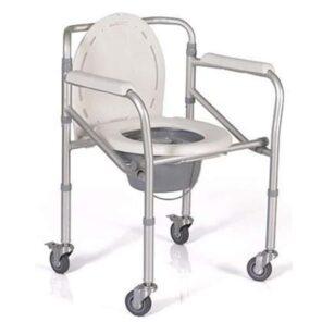 เก้าอี้นั่งถ่ายมีล้อ