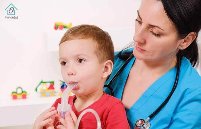 การสูดยาขยายหลอดลมทางปาก